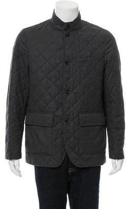 Michael Kors Quilted Wool Jacket