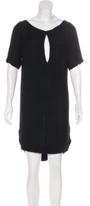 A.L.C. Scoop Neck Short Sleeve Dress