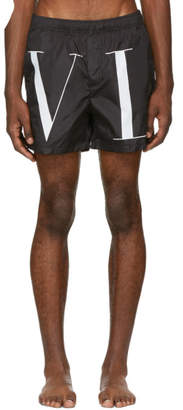 Valentino Black VLTN Swim Shorts