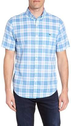 Vineyard Vines Classic Fit Herring Creek Plaid Woven Shirt