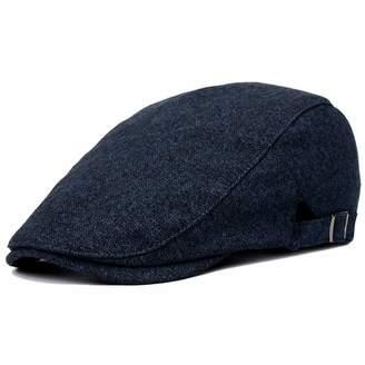 Clape Duckbill Ivy Cap Cotton Flat Cap Cabbie Newsboy Beret Irish Hunting  Hat a24c4b6296a8