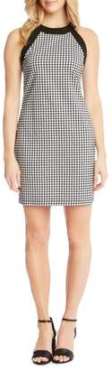 Karen Kane Gingham Check Sheath Dress