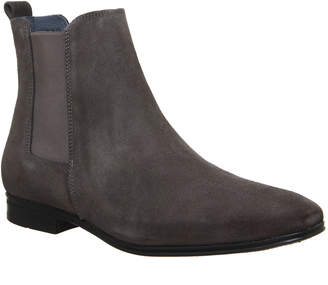 Ask the Missus Iago Boots Grey Suede
