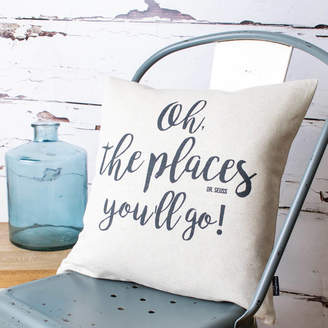 Dr. Seuss Vintage Designs Reborn 'Oh, The Places You'll Go' Cushion Cover