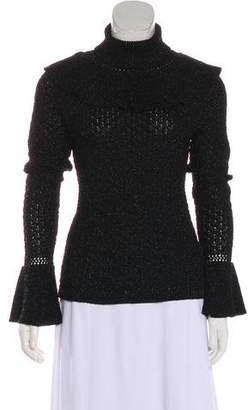 Co Metallic Knit Top