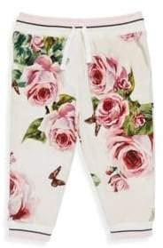 Dolce & Gabbana Toddler's, Little Girl's & Girl's Floral Jogger Pants