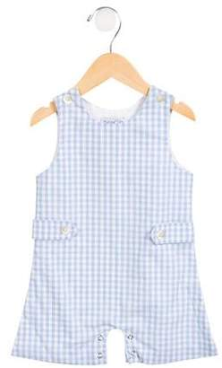 Baby CZ Boys' Gingham All-In-One
