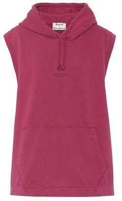 Acne Studios Odario sleeveless cotton hoodie