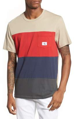 Calvin Klein Jeans Calvin Klein Colorblocked Pocket T-Shirt