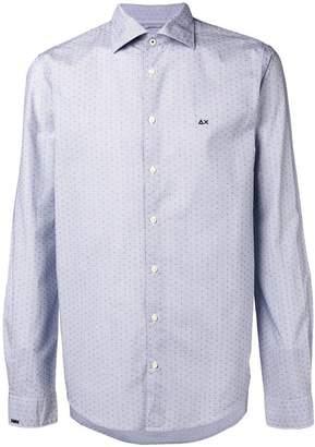 Sun 68 dotted logo shirt