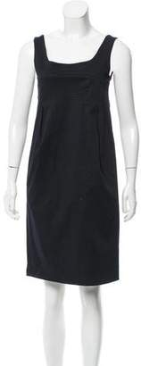 Hache Sleeveless Shift Dress