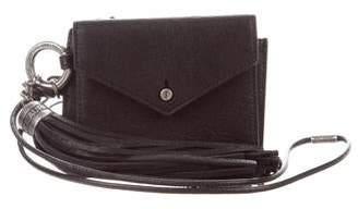 Saint Laurent Leather Tassel Wallet