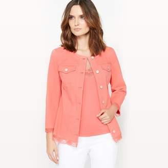 Anne Weyburn Lace Trim Jacket
