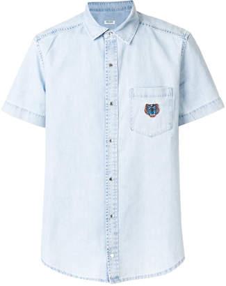 Kenzo Mini Tiger denim shirt