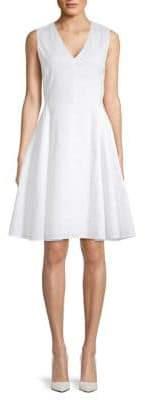 Theory Kalsington Fit-&-Flare Dress