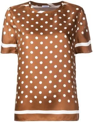 P.A.R.O.S.H. polka-dot blouse