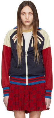 Gucci Navy Guccify Yourself Track Jacket