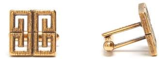 Givenchy 4g Logo Cufflinks - Mens - Gold