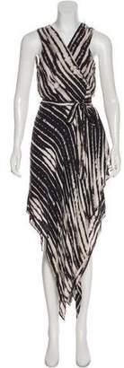 Haute Hippie Silk Wrap Dress w/ Tags