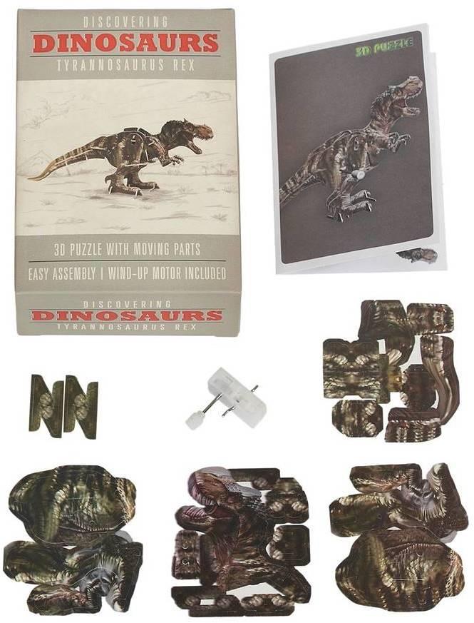 Little Ella James Make Your Own Wind Up Tyrannosaurus Rex