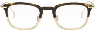 Issey Miyake Brown Half Boston 1 Glasses