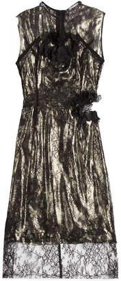 Preen by Thornton Bregazzi Lace Lamé Dress