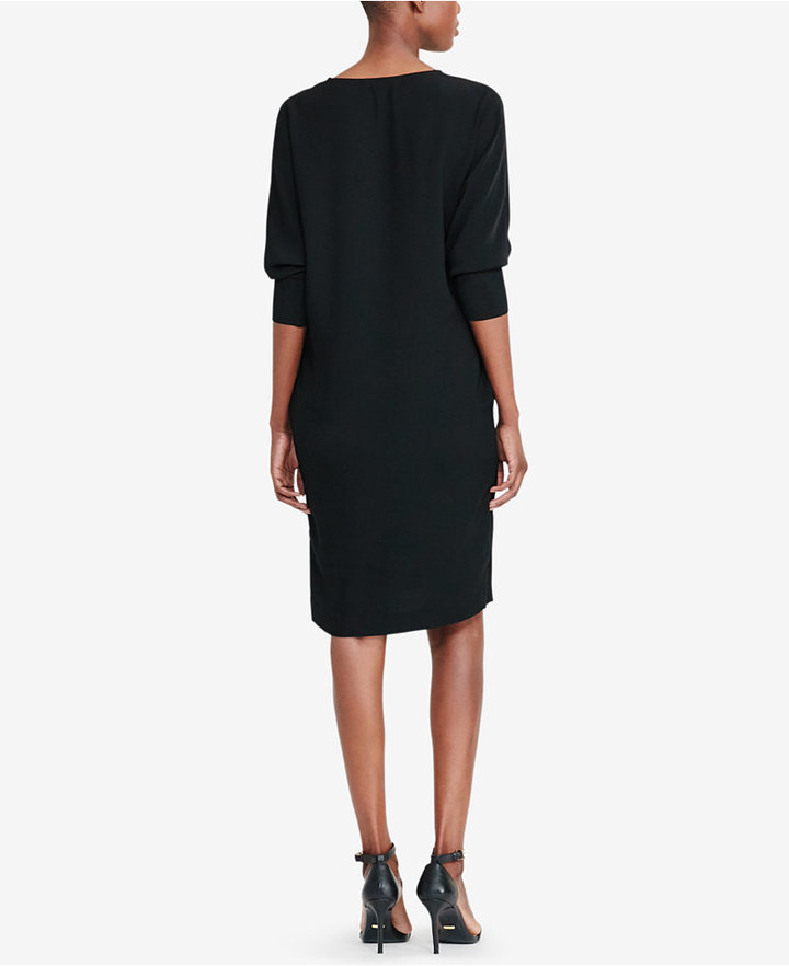 Lauren Ralph Lauren Crepe Shift Dress 4