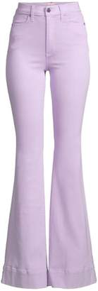 Alice + Olivia Jeans Orchid High-Rise Flare Jeans