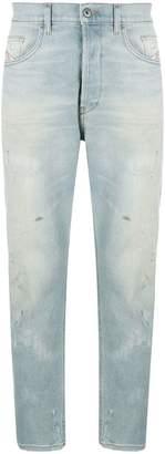 Diesel distressed regular jeans