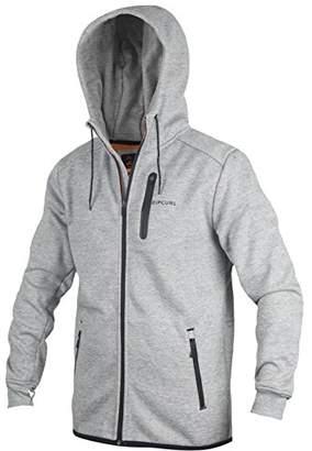 Rip Curl Men's Departed Anti Series Zip up Hooded Fleece Sweatshirt