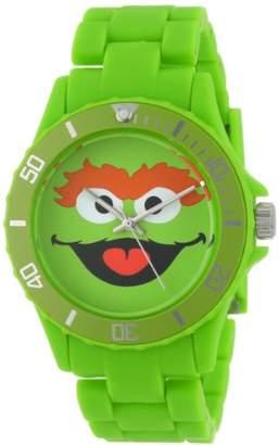 Sesame Street SW6328OS Oscar the Grouch Link Watch