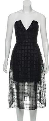 Nicholas Window Lace Bustier Dress w/ Tags