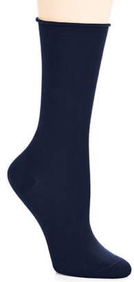 BLEU FORET Velvet Cotton Socks
