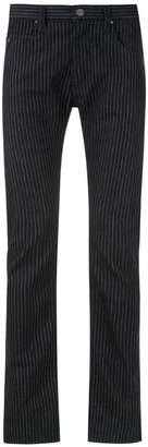 Emporio Armani pinstriped trousers