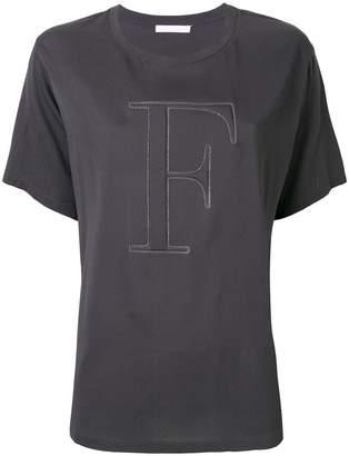 Fabiana Filippi embellished logo T-shirt