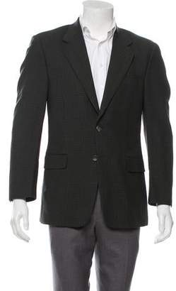 Barneys New York Barney's New York Printed Wool Blazer