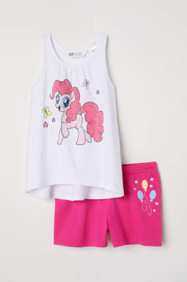 H&M Tank Top and Shorts - Pink