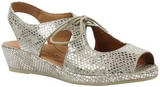 L'amour Des Pieds L'Amour Des Pieds Lace-Up Sandals - Brettany