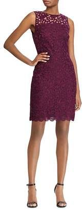 Lauren Ralph Lauren Sleeveless Floral-Lace Dress