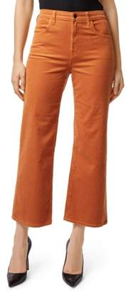 J Brand Joan High Waist Corduroy Crop Flare Jeans