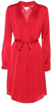 Velvet Donna satin midi dress