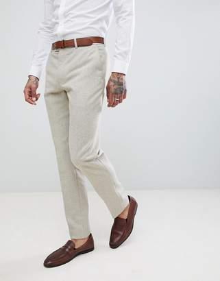 Harry Brown Wedding Donegal Slim Fit Suit Pants
