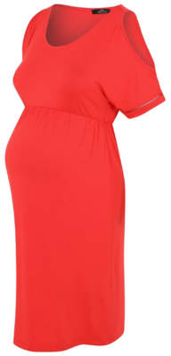 George Maternity Cold Shoulder Dress