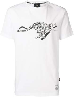 Class Roberto Cavalli Cheetah print T-shirt