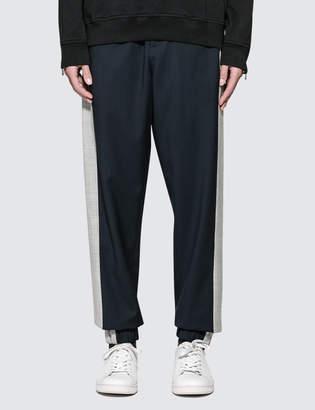 3.1 Phillip Lim Classic Wool Lounge Pants with Tuxedo Stripe