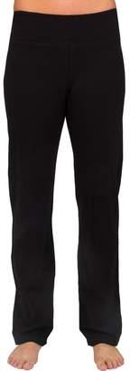 Danskin Women's Wide Waist Bootcut Pants