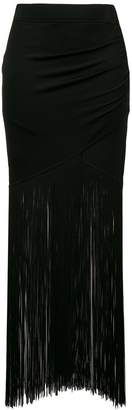 Moschino long tassel skirt