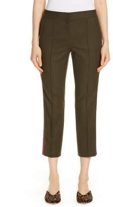 Nordstrom Signature Side Stripe Stretch Flannel Pants