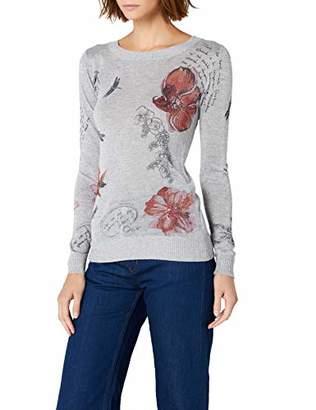 Desigual Women's Calgary Canada Pullover Sweater