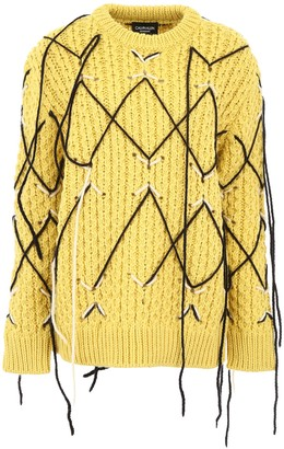 Calvin Klein Honeycomb Pullover
